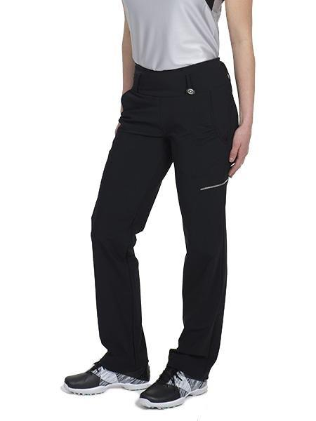 SwingDish Women's Golf Day Black Signature Pant