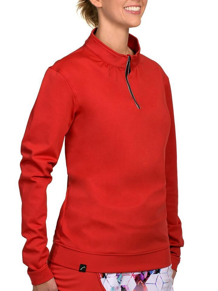 SwingDish Women's Golf Day Boyfriend Pullover