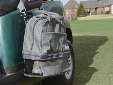 SwingDish Women's Golf Day Grey Bring It Bag