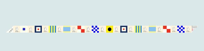 WGD Sail Flags Silk Scarf